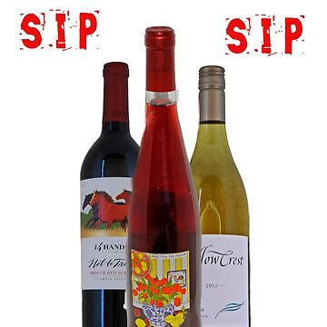 sip sip and three wines by coxon