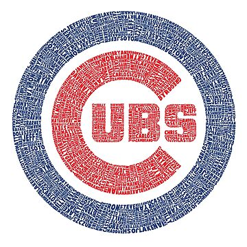 Chicago Cubs Typography Logo by hooterman