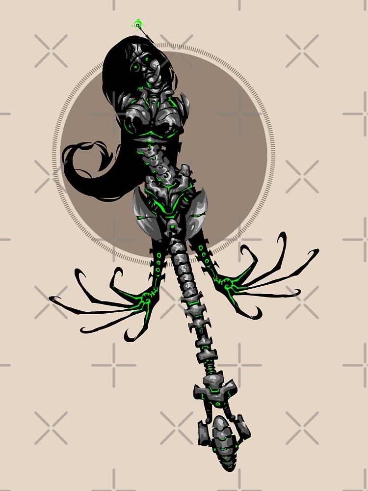 RollerGirl: Killbot Assassin by simonsherry