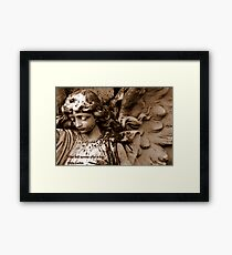 What will survive of us is love Framed Print