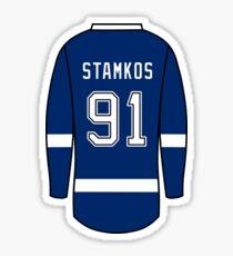 Steven Stamkos Jersey Sticker
