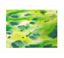 Grassy Green Art Print