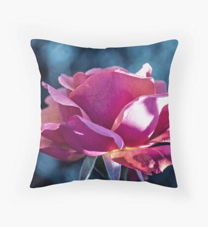 October Rose I Throw Pillow