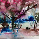 ominöser Wald von Marianna Tankelevich
