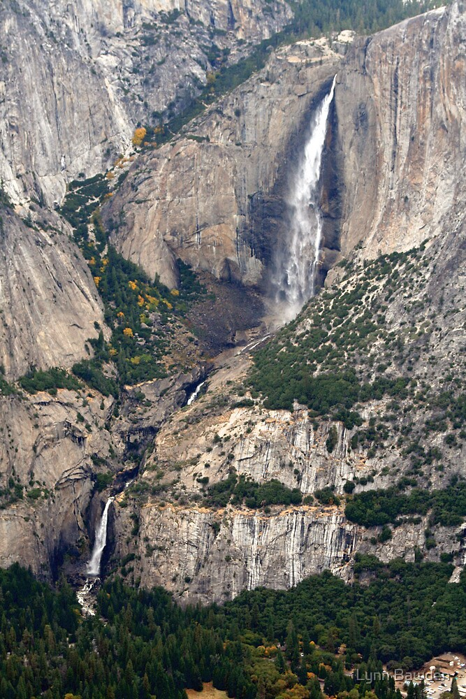 """Upper and Lower Yosemite Falls"" by Lynn Bawden"