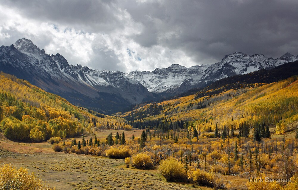Stormy Weather, Uncompahgre National Forest, Colorado by Mark Bergman