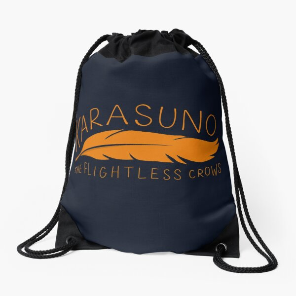 Karasuno - The Flightless Crows Drawstring Bag