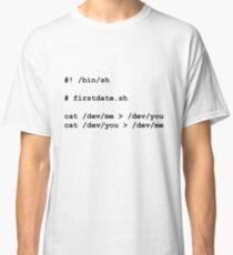 firstdate.sh Classic T-Shirt