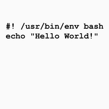 Hello World Shell by novelnetwear