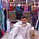The carpet shopkeeper by Cvail73