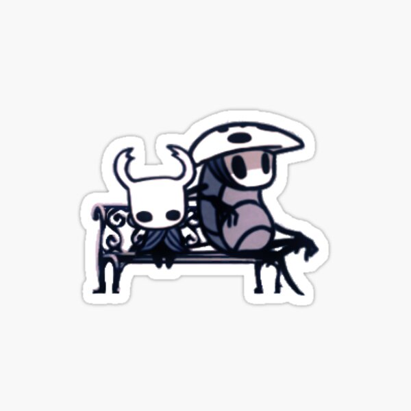 Quirrel and Ghost Sticker