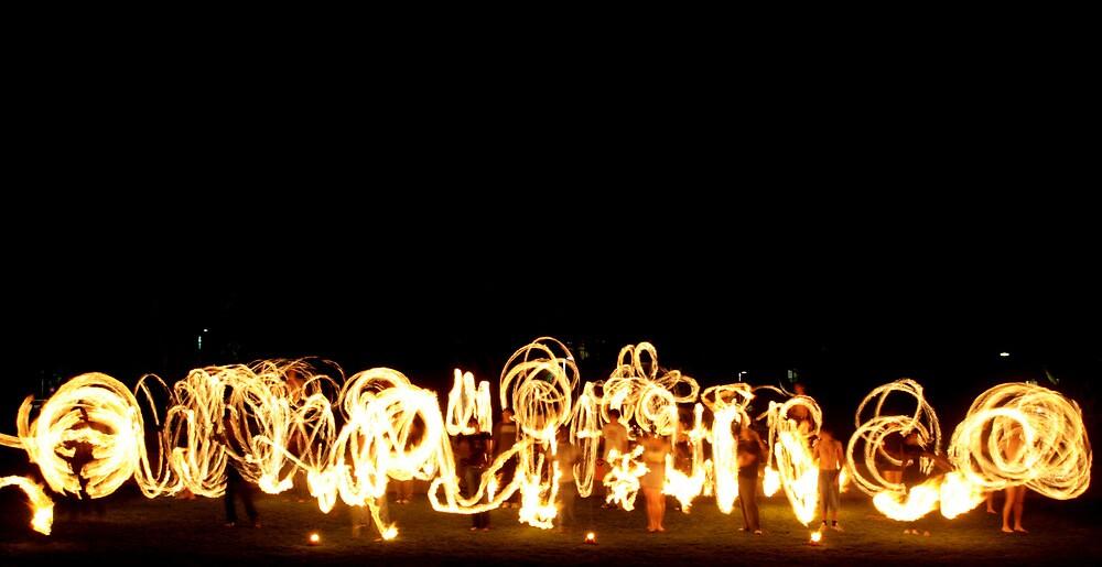 gathering of fire by Stefan Raycanovski