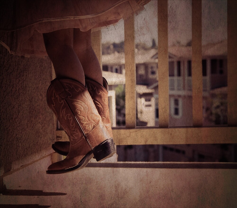 Boots hanging by h0neybebeh