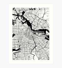 Amsterdam Toner Poster Art Print