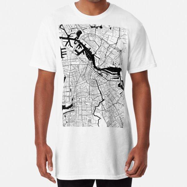 Amsterdam Toner Poster Long T-Shirt