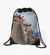 Buddhist Sacred Site Drawstring Bag