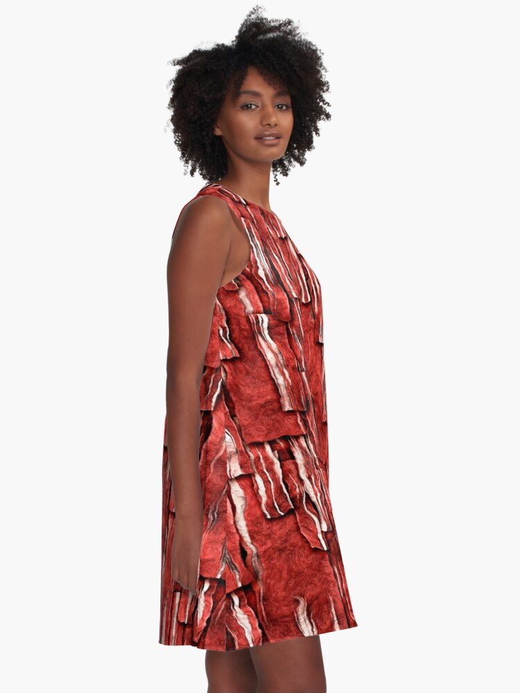 Alternate view of Got Meat? A-Line Dress