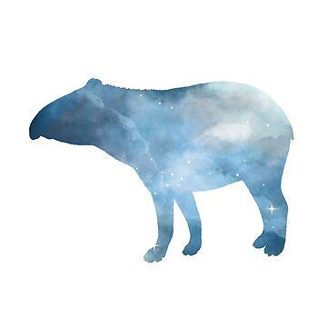 Tapir by GwendolynFrost