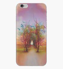 Birds of Rainbow Mist iPhone Case