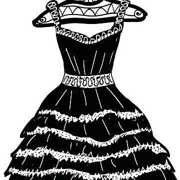 Black dress by Kuhtina