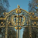 Buckingham Palace Gates by Alice McMahon