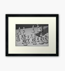 Who Wins? Framed Print
