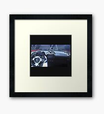Spacex dont panic Framed Print