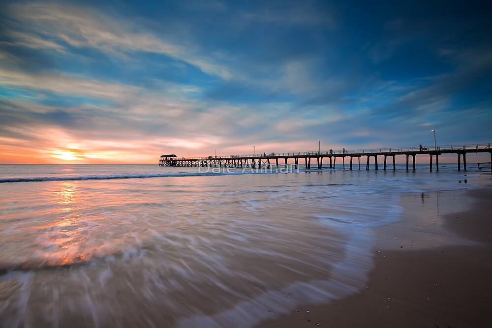 Motion at Henley Beach by Dale Allman