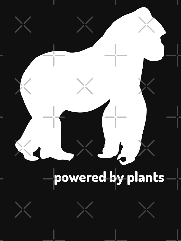 powered by plants gorilla by PlantVictorious