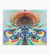 'Etheric Lotus (pastel)' Photographic Print