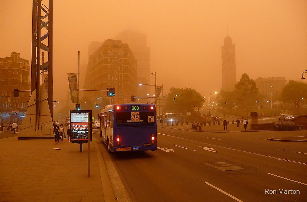 Dust Storm 7 a.m. by Ron Marton