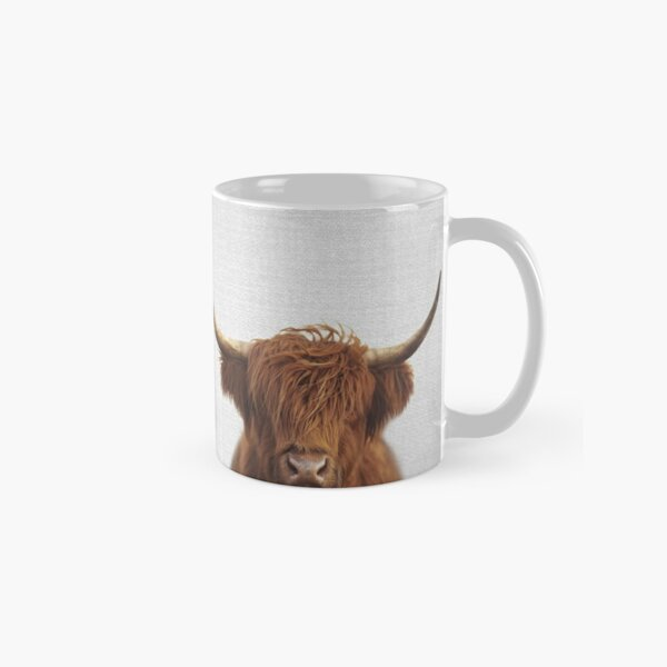 Highland Cow - Colorful Classic Mug
