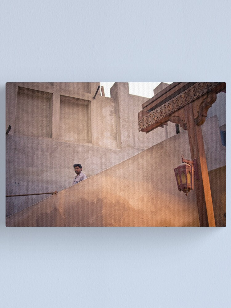 Alternate view of The staircase Canvas Print