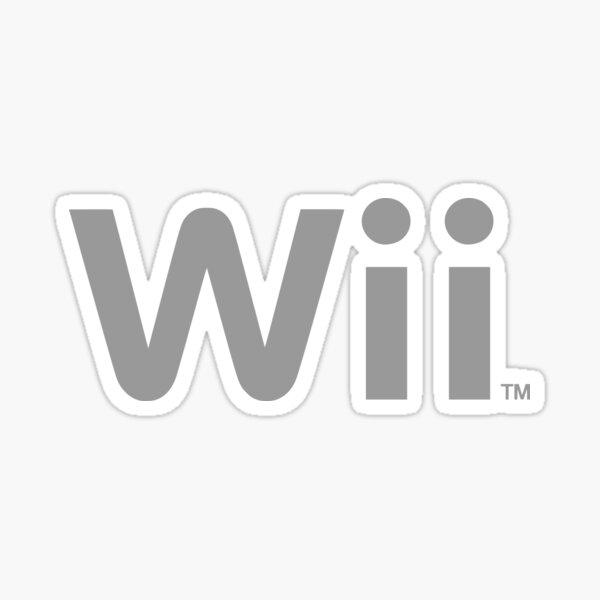Wii logo Sticker