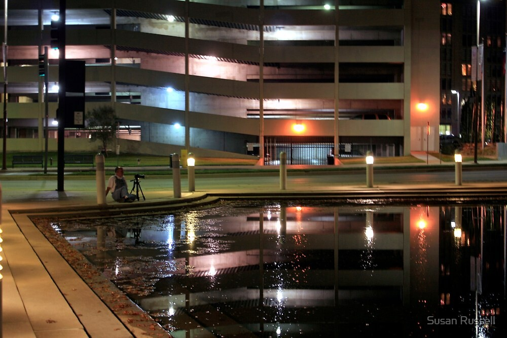 """Photographing """"Trail Drive"""" Sculpture in Downtown Dallas by Susan Russell"""