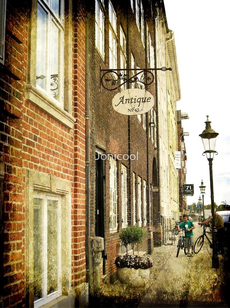 Antique Shop in Copenhagen by Jonicool