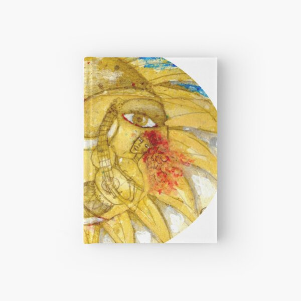 The Golden Sun Hardcover Journal