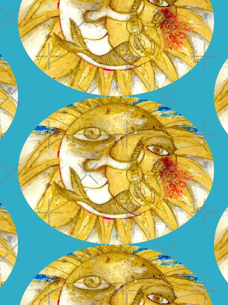 The Golden Sun by aremaarega