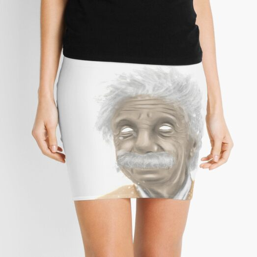 Albert Einstein -mastermind tee Mini Skirt