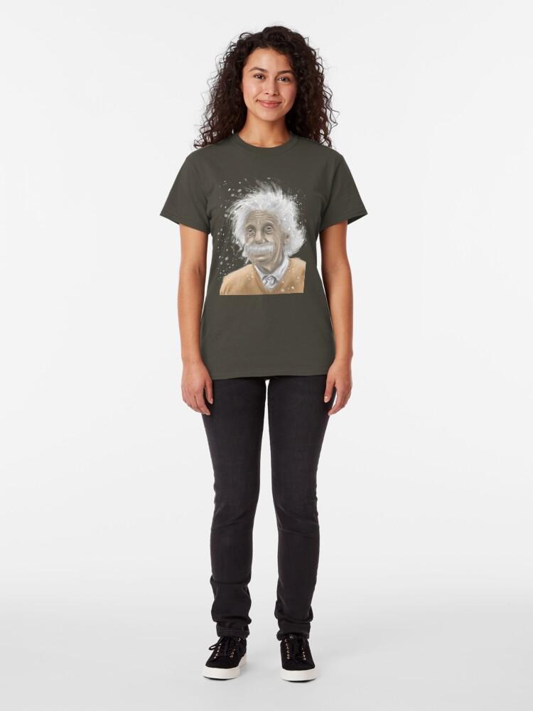 Alternate view of Albert Einstein -mastermind tee Classic T-Shirt
