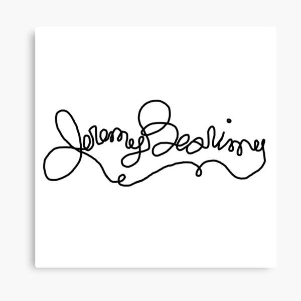 Jeremy Bearimy Canvas Print