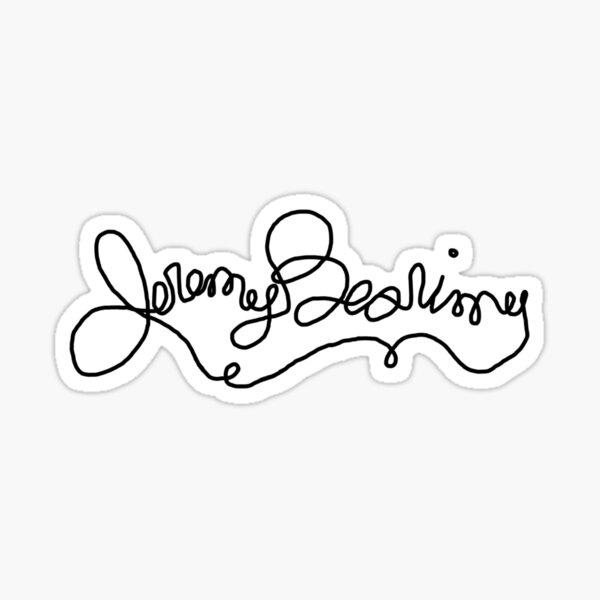 Jeremy Bearimy Sticker
