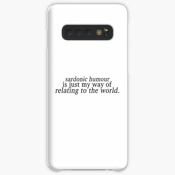Sardonic Humour 1 Samsung Galaxy Snap Case