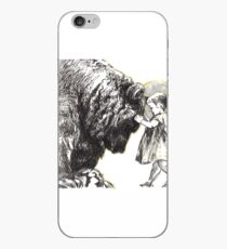 Friends - ink on paper drawing  iPhone Case