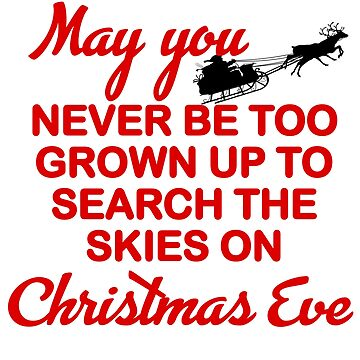 SEARCH THE SKIES CHRISTMAS EVE by CalliopeSt