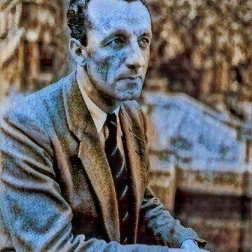 Merleau Ponty - stylized by jaxxmc
