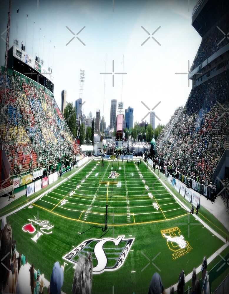 Mosaic Stadium Taylor Field by Angela E.L. Clements