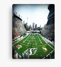 Mosaic Stadium Taylor Field Canvas Print