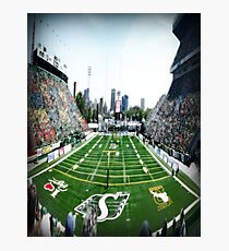 Mosaic Stadium Taylor Field Photographic Print