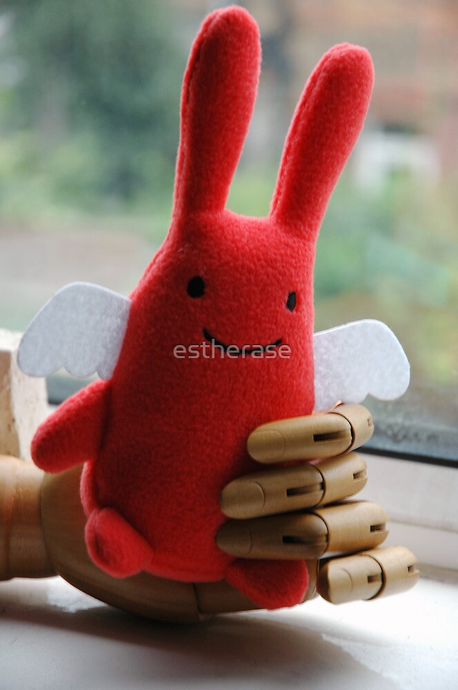 angel bunny by estherase